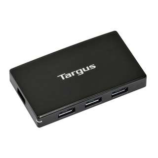 Targus USB 3.0 4-Port Hub with detachable 60cm cable ACH144AP-50