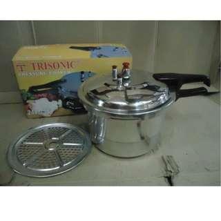 Panci Fast Cooking Presto Trisonic 12 Liter Pressure Alumunium
