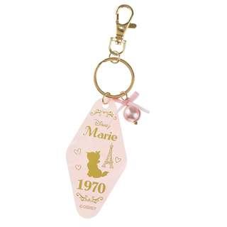 日本 Disney Store 直送 Marie 富貴貓酒店房門匙牌系列掛飾匙扣