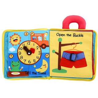 Baby Early Learning Cloth Book(My First Book)