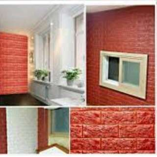 KOREAN 3D WALL FOAM BRICKS