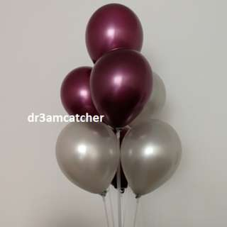 Pearl balloons - very classy and pretty
