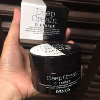 Eveness Deep Cream Cleanser