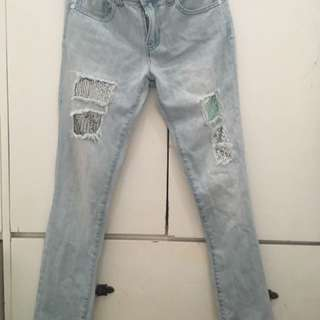 Guess pants for girls size 12yrs