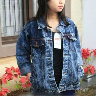 Oversize jeans jaket