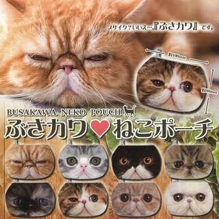 🎏日本Busakawa貓喵錢包🐈💕