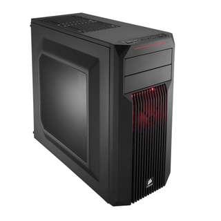 Corsair Carbide  SPEC 02 Red LED Mid Tower Gaming Case Spec02 Spec2 Spec 2