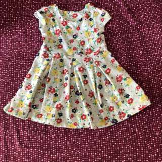 Mothercare dress 9 to 12 months Baby girl
