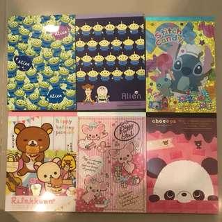 Japan Three eyes alien Notebook