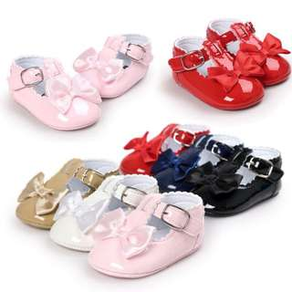 ❤️SWEET BABY GIRL PRINCESS TODDLER BOWKNOT INFANT PU ANTI-SKID BABY SHOES❤️