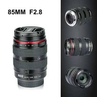 Meike 85mm F2.8 Marco lenses
