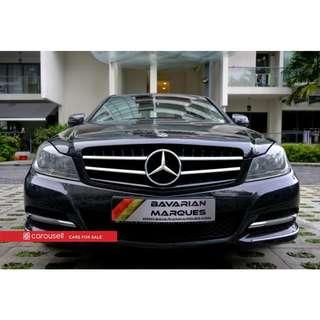 Mercedes-Benz C-Class C200K Avantgarde (COE till 11/2027)