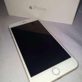 Apple iphone 6 plus 6+ 128gb 128 gb white gold bandung