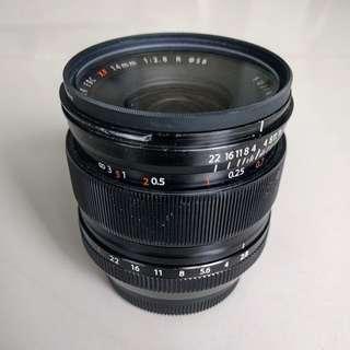 Fuji Fujifilm 14mm f2.8 lens