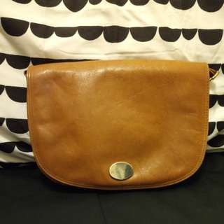 🇬🇧Vintage Brown England style leather Bag
