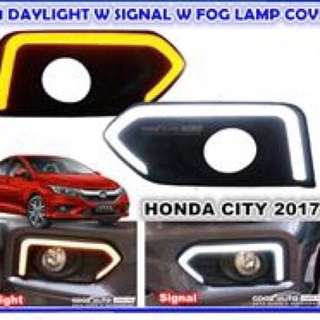 Fog Lamp Cover W/Drl - H.City 17'