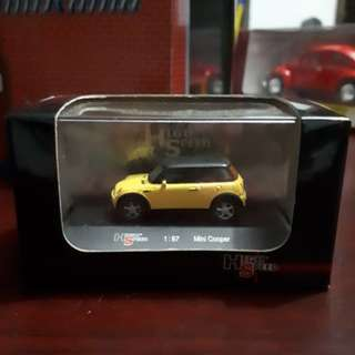 High Speed 1:87 Mini Cooper