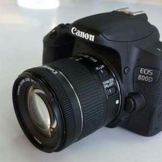 Kredit Canon EOS 800D WIFI 18-55 IS STM Kit - Cicilan tanpa Cc