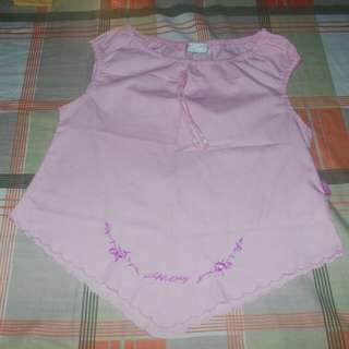Pink snoopy top