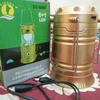 Lampu Kemping / Lentera Solar / Lampu Emergency