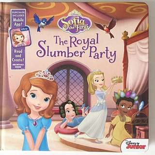 Sofia The First- The Royal Slumber Party