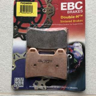 EBC Double-H Sintered Motorcycle Brake Pads FA244HH