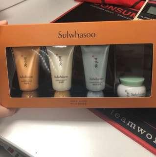 Sulwhasoo mask kit (4item)