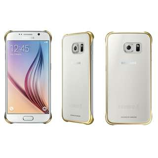 Samsung Galaxy S6 G9200, G9208, G920F, G920I Clear cover 原廠薄型透明背蓋 EF-QG920 < 100% new original >