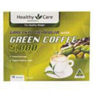 Healthy Care Green Coffee 18 Sachets