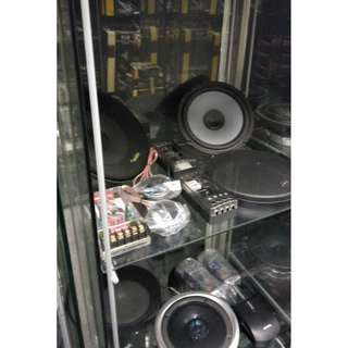 CAR AUDIO SYSTEM @  SPEAKER