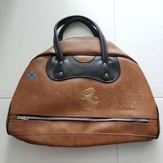 Vintage Renault O.V.B. Cognac Bag (Brown)