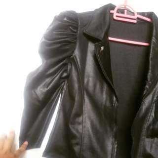 (Reprice) Outer Blazer New Like Leather