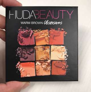 HUDA Beauty Warm Brown Obsessions (Authentic)