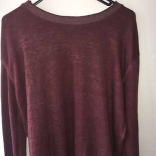 Cotton on Maroon jumper