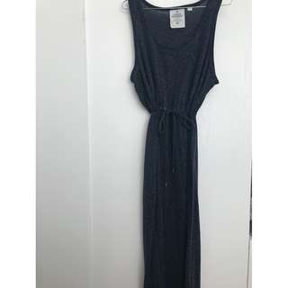 XS Cheap Monday Maxi Dress with Tie