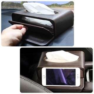 Car Tissue Box/ Phone Stand