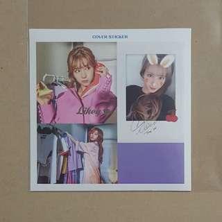 [WTB] TWICE Twicetagram Sana & Tzuyu's Sticker