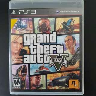 PS3 GTA 5 Game Grand Theft Auto V