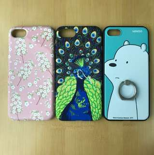 iPhone 7 case $45 for 3 (good condition, postage included)