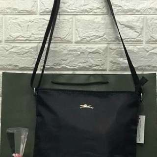 Longchamp slingbag(nylon) P430 only addtl 50 if with paper bag Size 11x10.5x2 inches