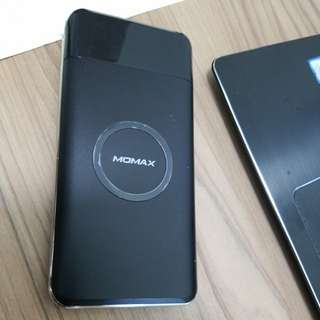 Momax 10000mah Wireless Charging Battery Pack