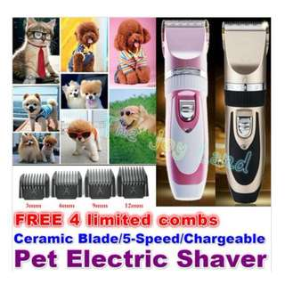 Rechargeable Professional pet clipper hair