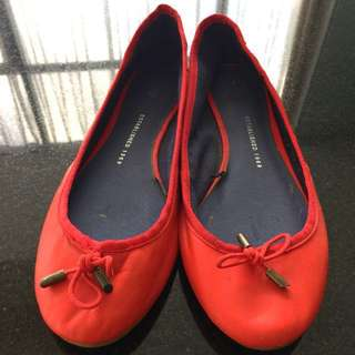 GAP Flat Shoes Red