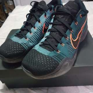 Nike Zoom Kobe X Elite low Drill Seargent size 11 US Used