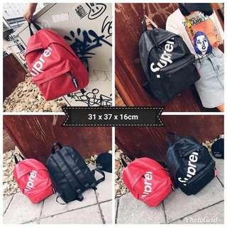 SUPREME Design Backpack (FREE POSTAGE)