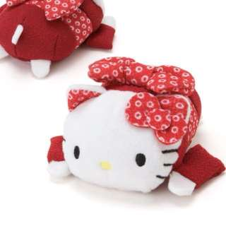 Hello Kitty Tsum Tsum Japanese 紅色日本