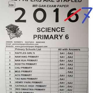 2017 Top Schools Exam Paper