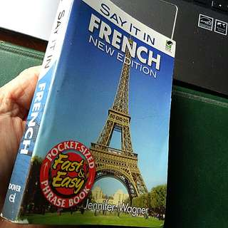 Pre-loved Travel Book,SAY IT IN FRENCH by Jennifer Wagner