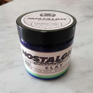 Nostalgic Grooming Clay