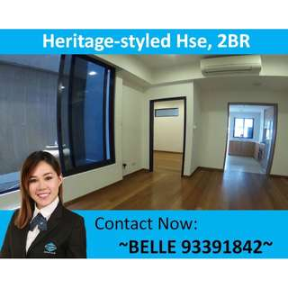 Conservation/Heritage Style Terrace House - Refurbished 2 BR